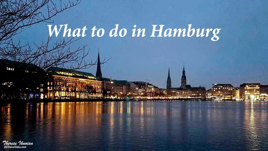 What to do in Hamburg sunrise over the Alster