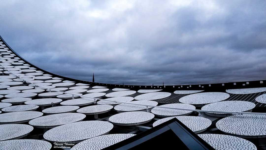 Hamburg Elbphilharmonie Roof