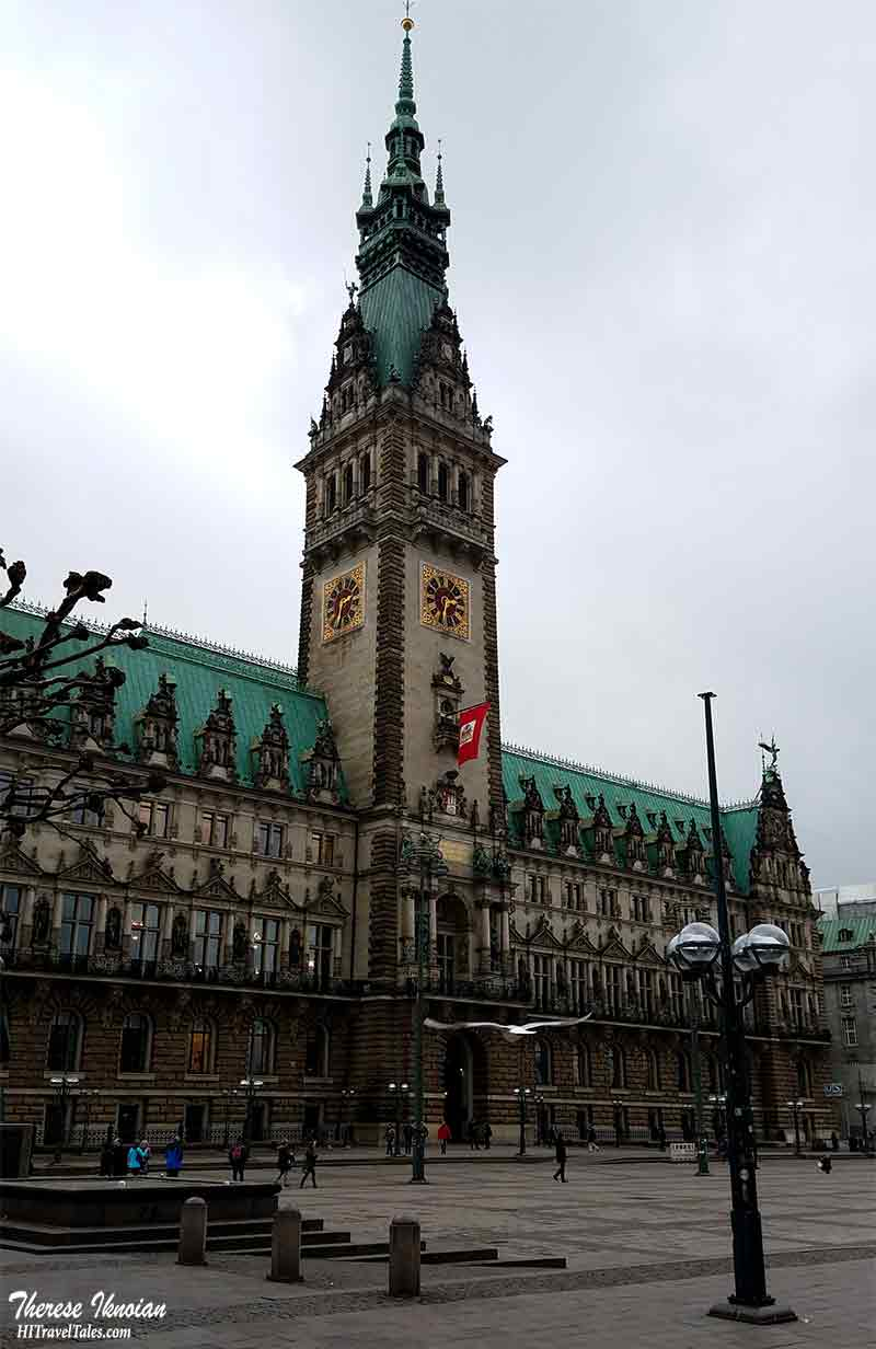 Hamburg Rathaus Tower