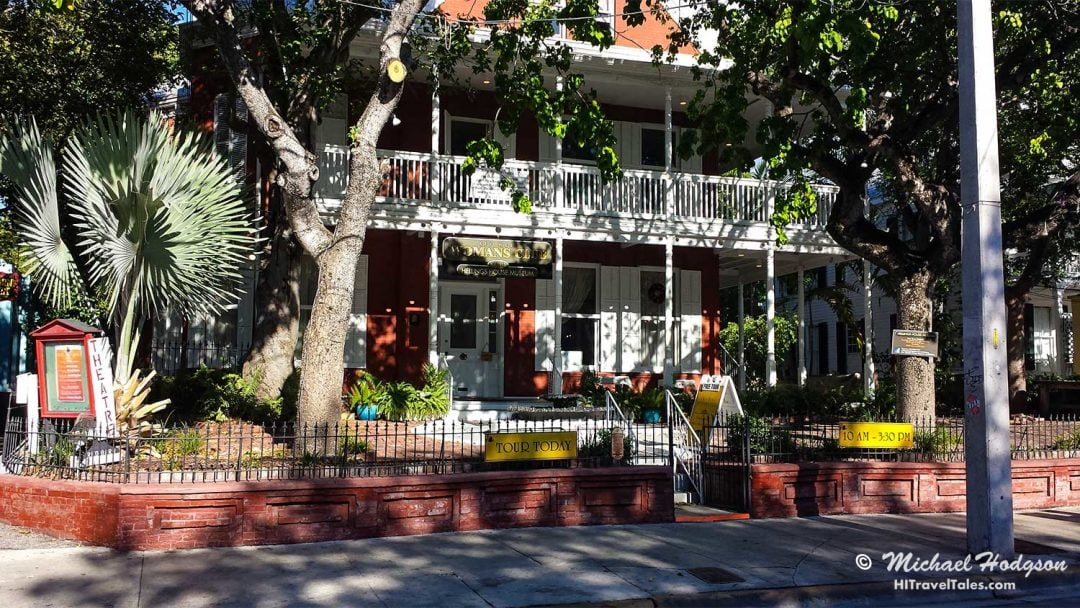 Historic Hellings House houses the Key West Women's Club