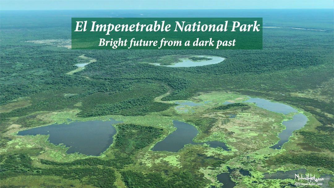 El Impenetrable National Park image from the air.