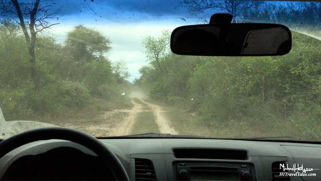 A road in El Impenetrable National Park.