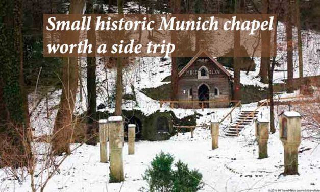Small historic Munich chapel worth a side trip