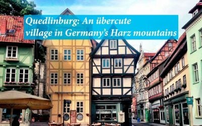 Quedlinburg: An übercute village in Germany's Harz mountains