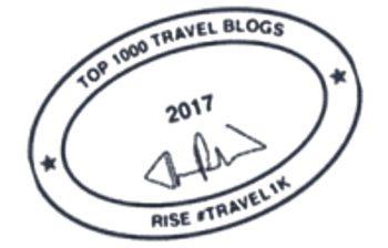 Top 1000 Travel Blogs 2017 Award