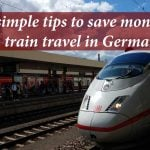 6 simple tips to save money on train travel in Germany