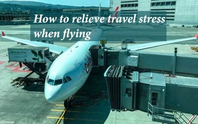 How to relieve travel stress when flying