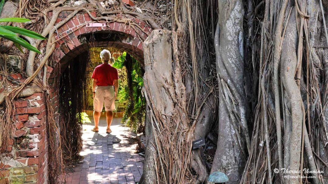 West Martello Tower Garden Club in Key West
