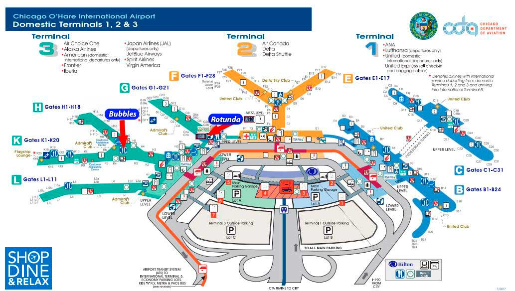 Chicago America Map.What To Do At Chicago Airport During A Layover Insider Tips