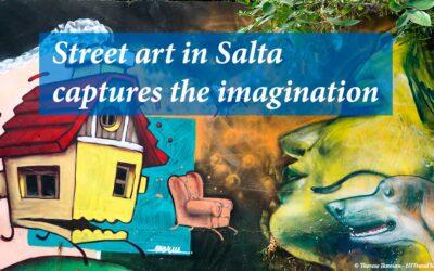 Street art in Salta captures the imagination