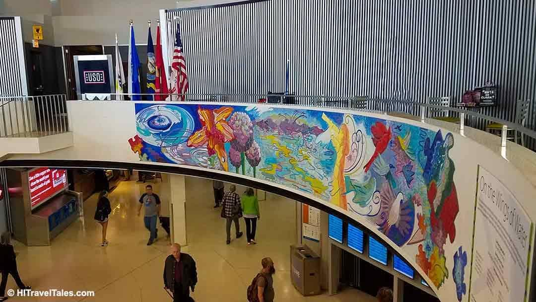 Chicago International Airport Rotunda Mosaic