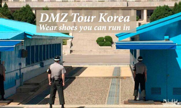 DMZ tour Korea: Wear shoes you can run in (updated 2018)