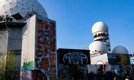 Teufelsberg Berlin: Abandoned spy post a Berlin street art gallery