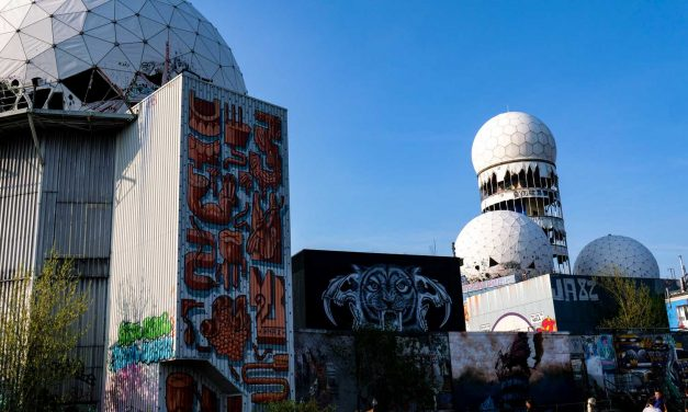 Teufelsberg Berlin: Abandoned spy listening post now street art gallery