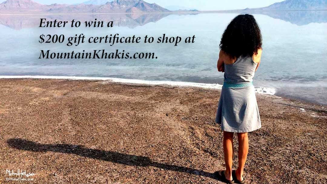 You could win a $200 gift certificate to shop at Mountain Khakis