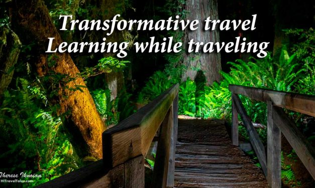 Transformative travel – learning while traveling