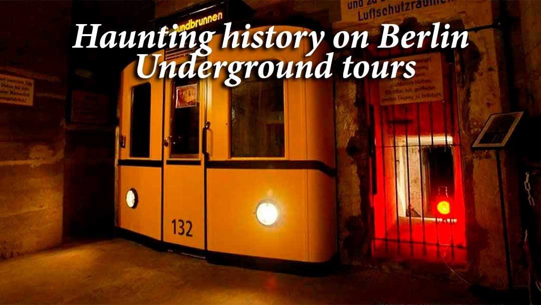 Berlin Underground Tours old subway car