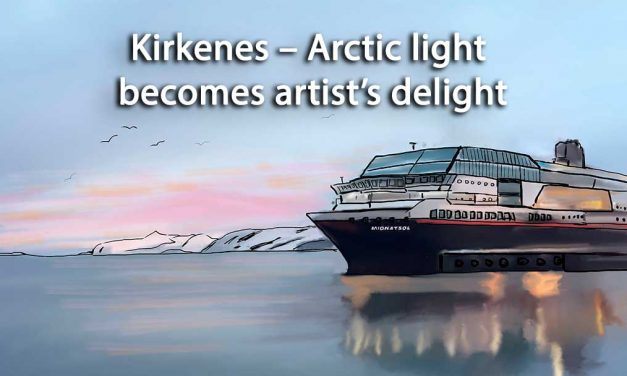 Kirkenes – Arctic light becomes artist's delight