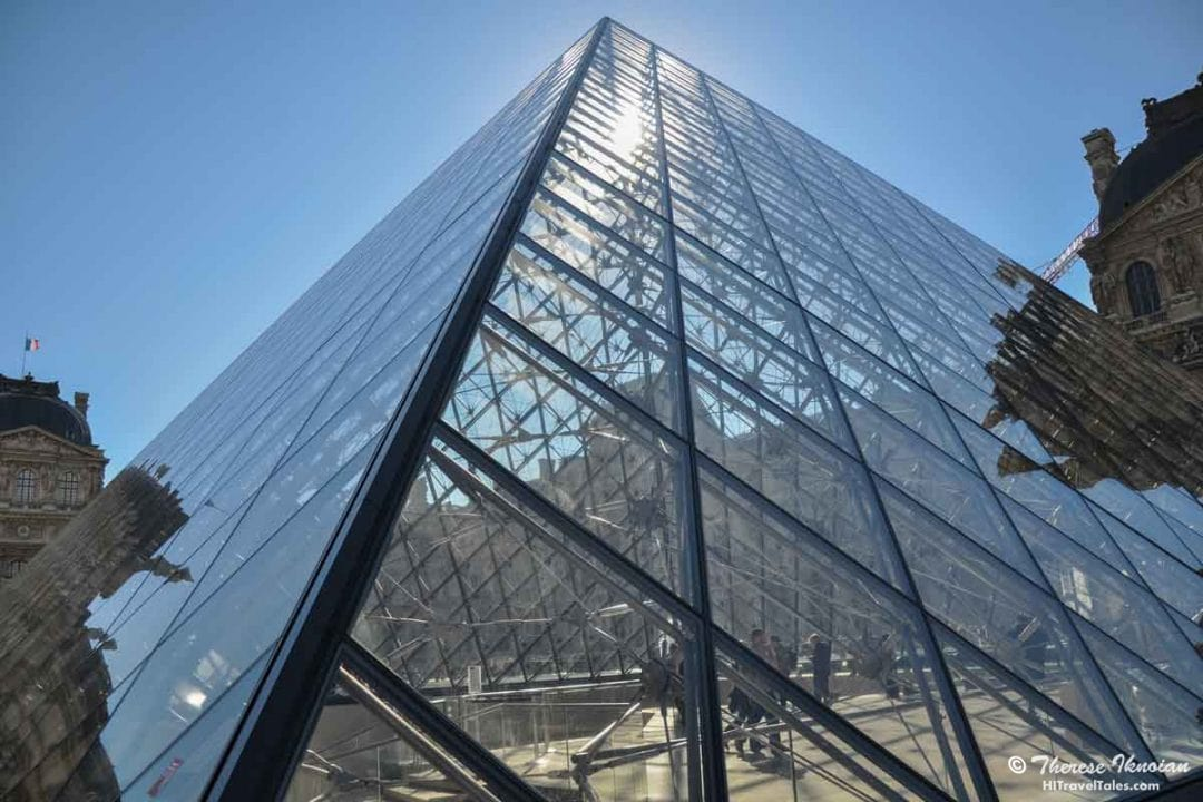 The Louvre Museum in Paris as seen by our Photographer's Diary camera