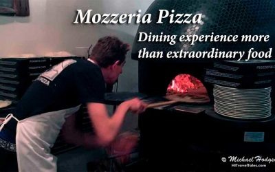 Mozzeria Pizzeria: Dining experience more than extraordinary food