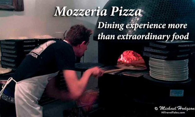 Mozzeria Pizzeria: Dining experience more than extraordinary food