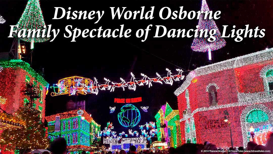 disney world christmas light show is extraordinary and fun