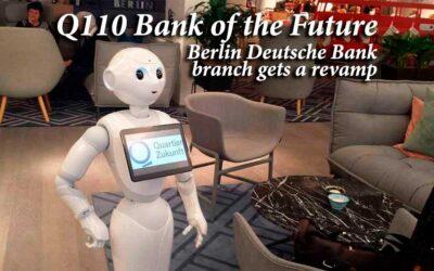Q110 Bank of the Future in Berlin by Deutsche Bank gets revamp