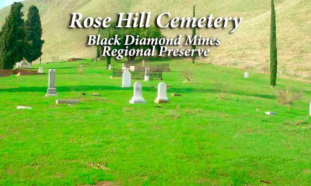 Rose Hill Cemetery at Black Diamond Mines Regional Preserve