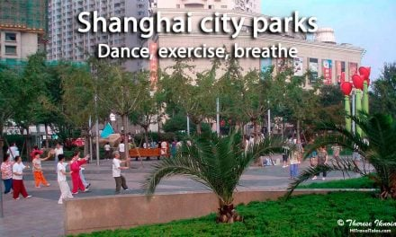 Shanghai city parks: Dance, exercise, breathe