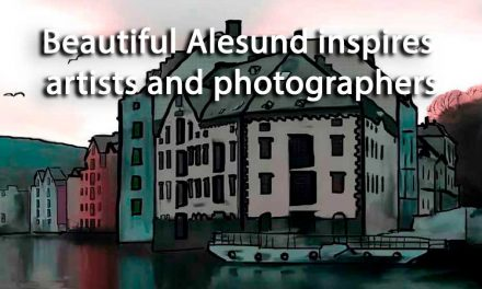 Beautiful Alesund inspires artists and photographers