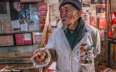 Supreme Dr. Ho Shi Xiu held court in Baisha Village near Lijiang