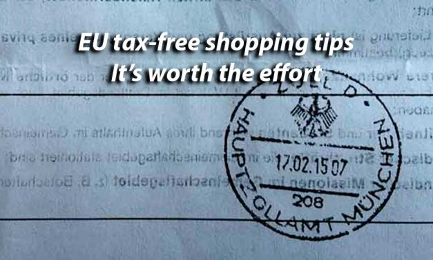 EU tax-free shopping tips – It's worth it