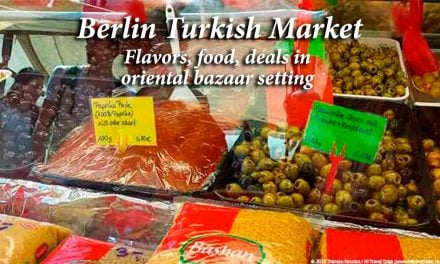 Berlin Turkish Market: flavors, food, deals in oriental bazaar setting