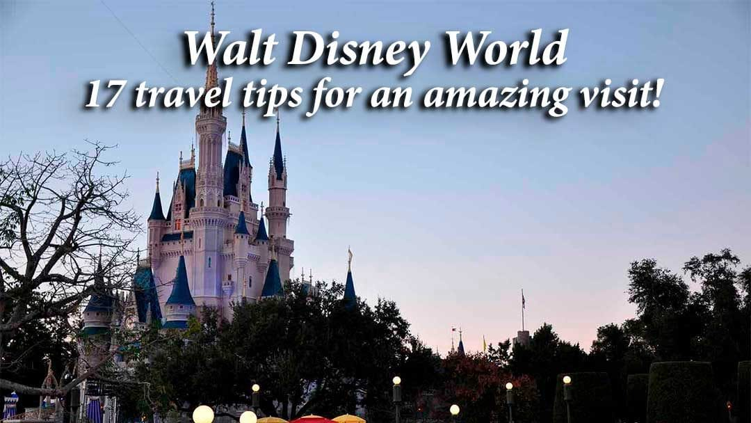 Walt Disney World at sunset