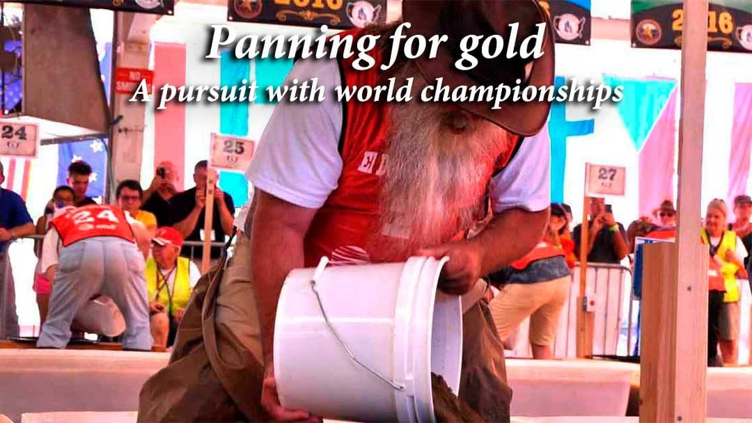 World Gold Panning Championships in Placerville