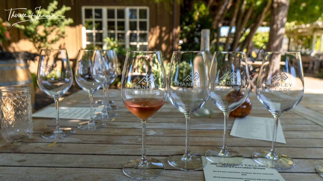 Handley Wine Tasting