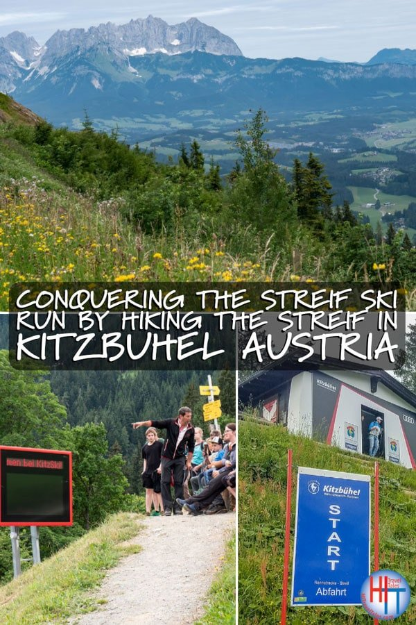Hiking The Streif In Kitzbuhel Austria