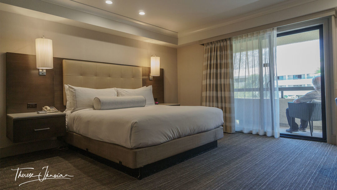 Hilton Palm Springs King Presidential Suite