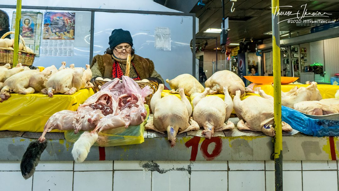 Hip Shooting Ukraine Meat Seller