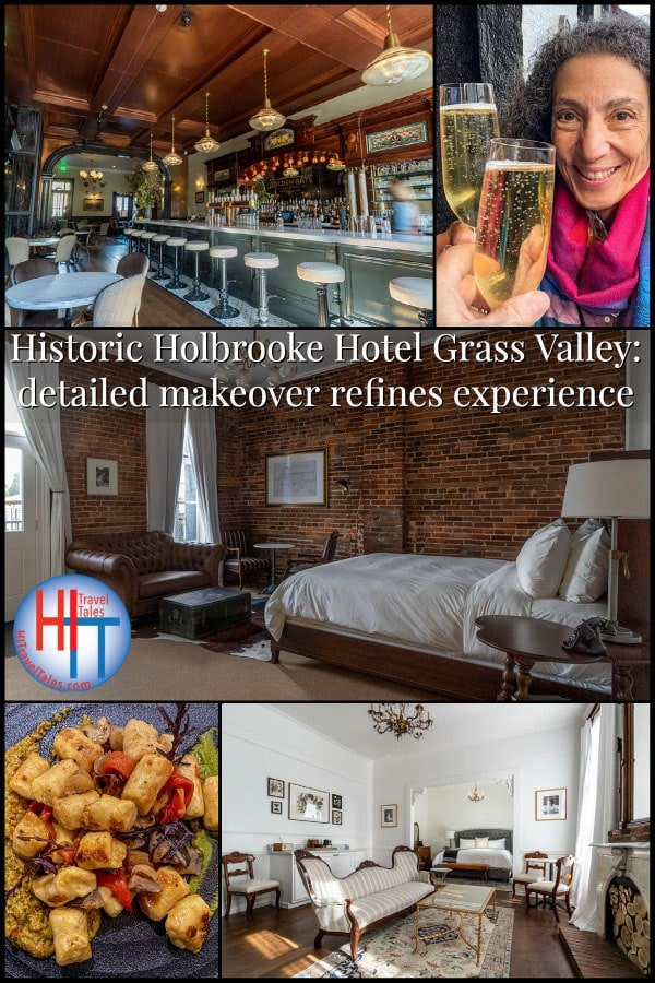 Historic Holbrooke Hotel Grass Valley Detailed Makeover Refines Experience