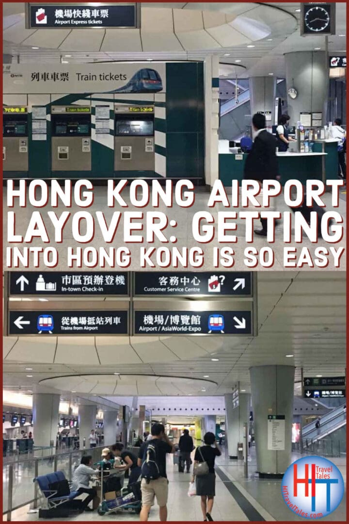 Hong Kong Airport Layover Getting Into The City So Easy
