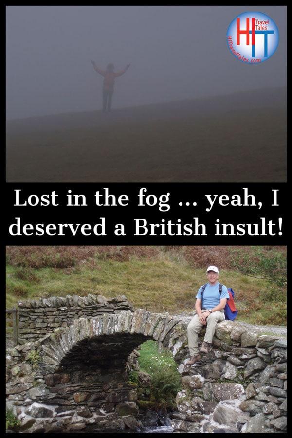 I Deserved The British Insult
