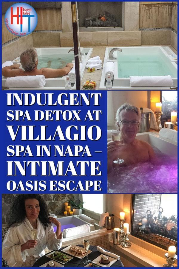 Indulgent Spa Detox At Villagio Spa In Napa Valley