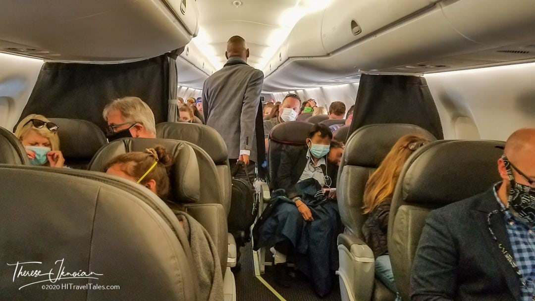 Jammed Plane Stay Healthy Flying