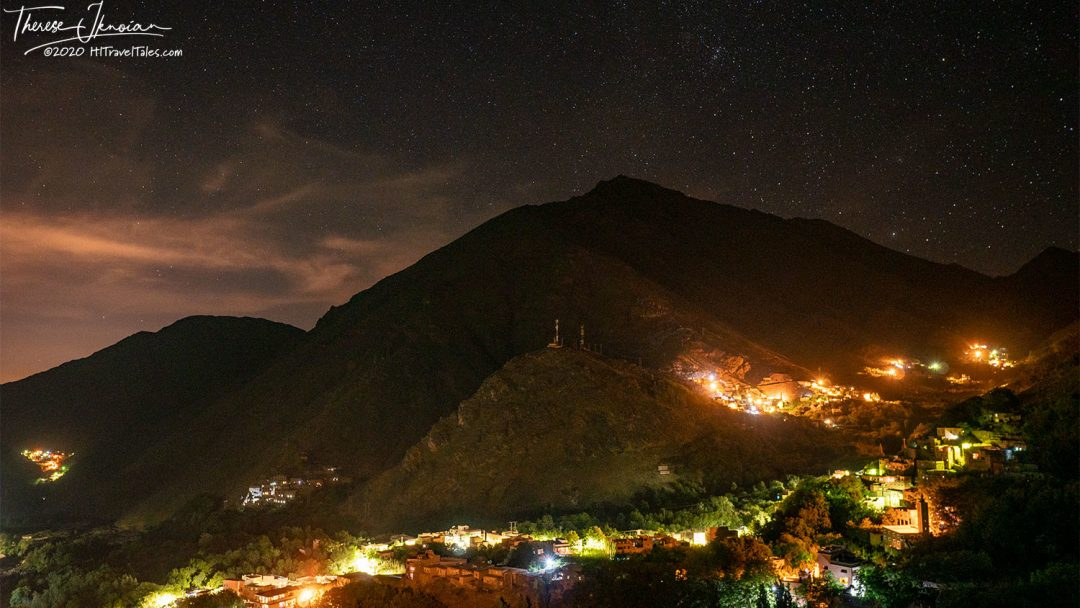 Kasbah Night Photo Of Valley