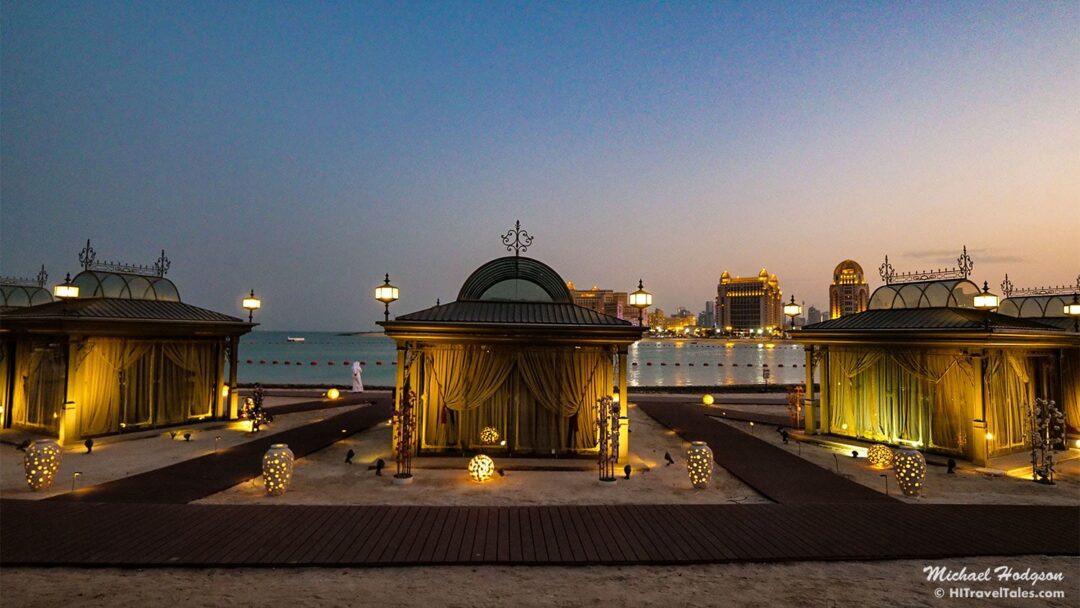 Katara Cultural Village Beach Huts