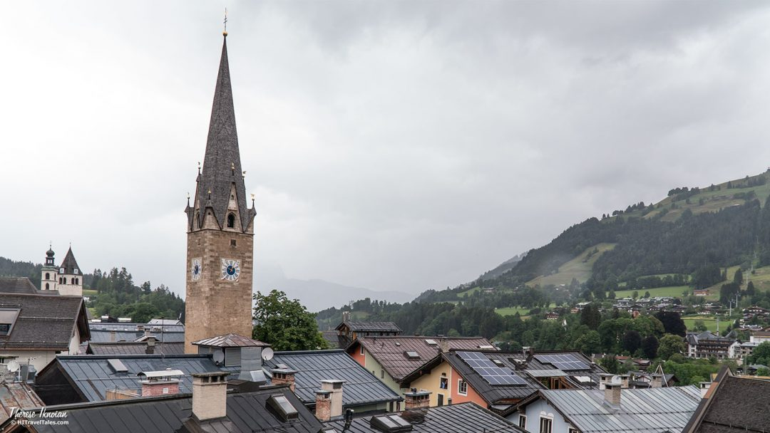 Kitzbuehel Museum View With Raindrops