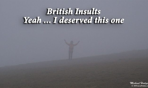 British insults: Yeah, I deserved it