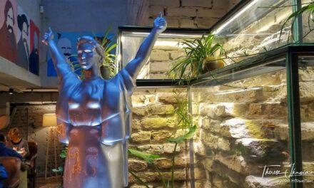 Discover the secret Ostannya Barykada restaurant in Kyiv