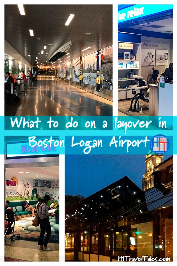 What to do on a layover in boston airport.